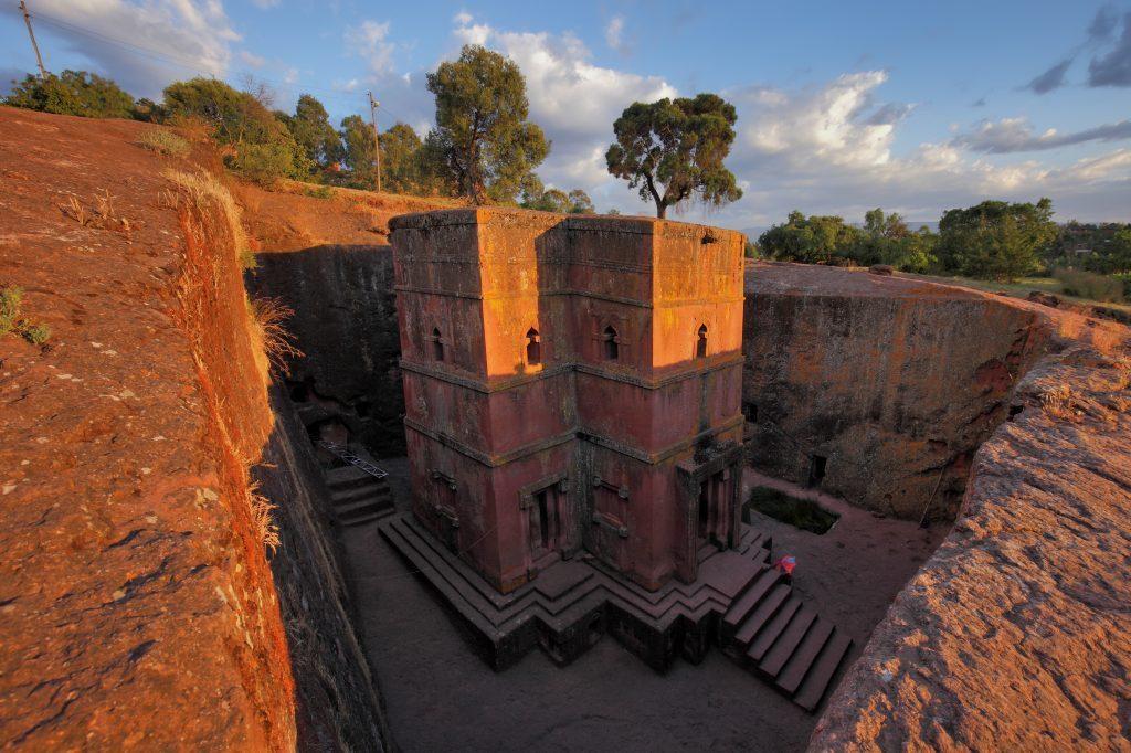 Äthiopien Reisen - Bete Giyorgis Felsenkirche in Lalibela