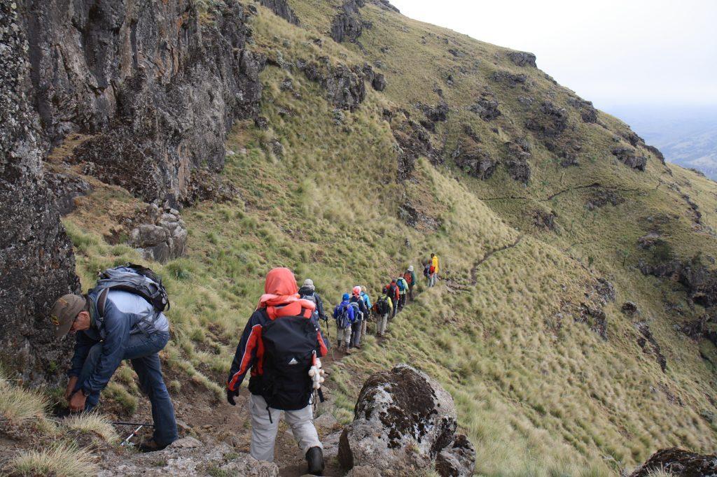 Äthiopien Reisen - Trekking im Simien Nationalpark
