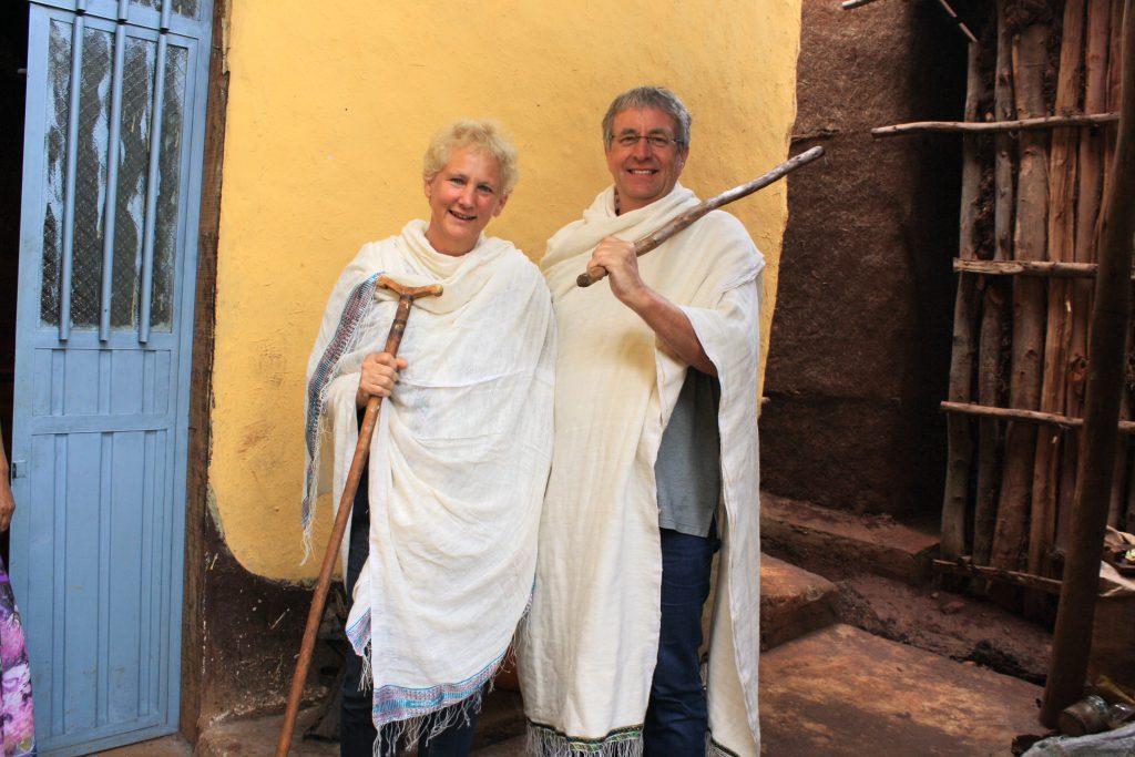 Äthiopien Reisen - Besuch bei äthiopischer Familie