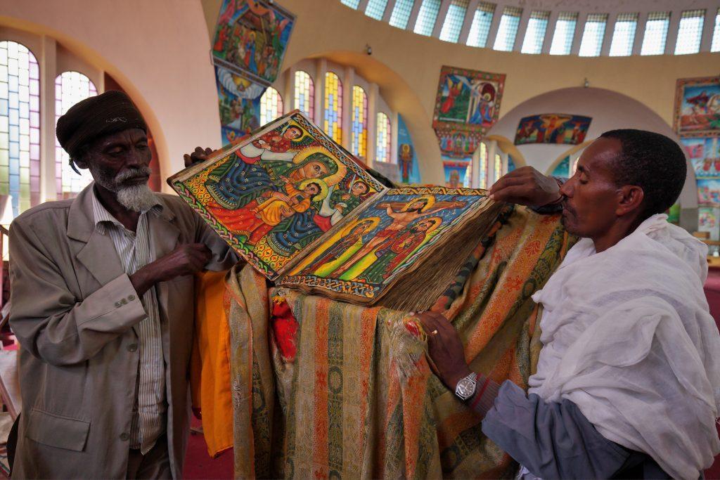 Äthiopien Reisen - Axum Gemälde
