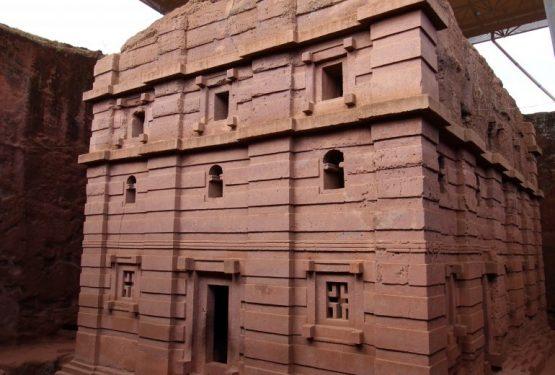 Reise nach Äthiopien - Felsenkirchen von Lalibela