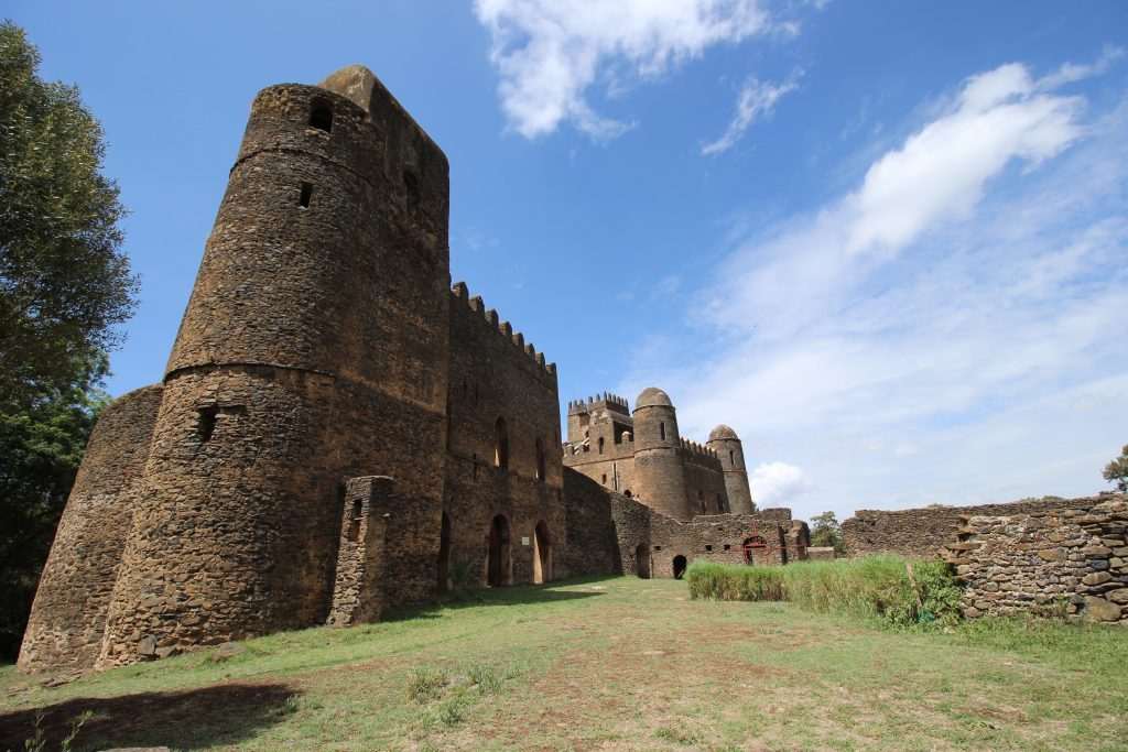 Urlaub in Äthiopien - Gondar Burganlagen