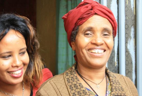 Äthiopien Rundreisen - Mutter und Tochter