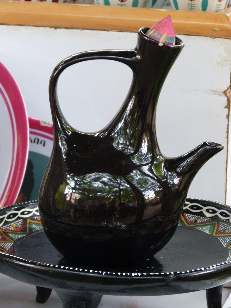 Äthiopien Reise - Kaffeekanne jebena