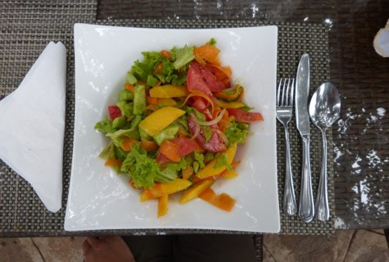 Äthiopien Reise - Salat