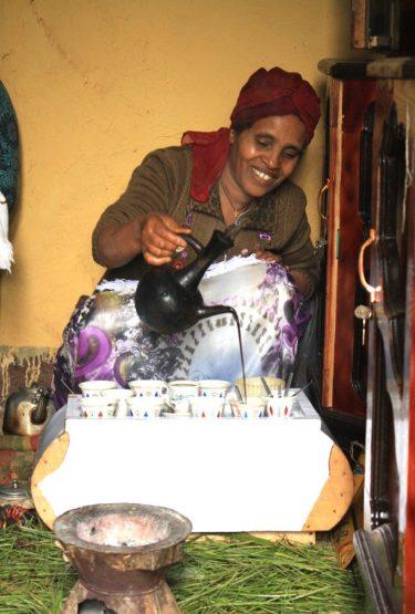 Äthiopien individuell - Kaffeezeremonie