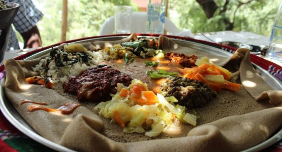 Äthiopien Rundreisen - Beyaynetu Injeera