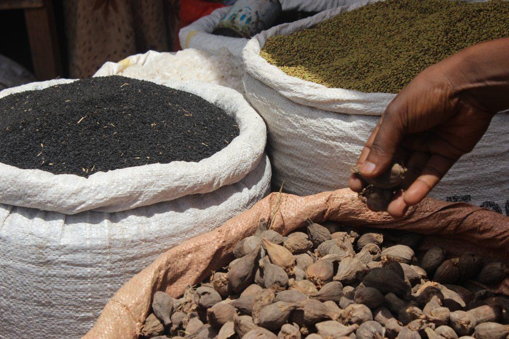 Reise nach Äthiopien - Gewürze in Bahir Dar