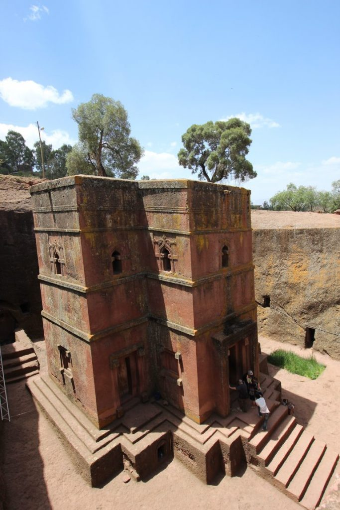 Rundreise Äthiopien - Felsenkirchen in Lalibela