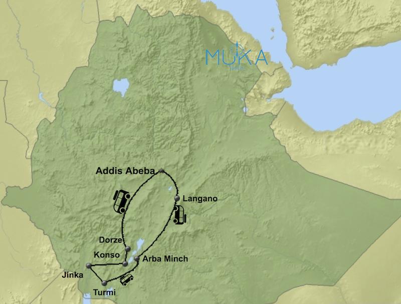 komfort Äthiopien Reisen aktiv KT02