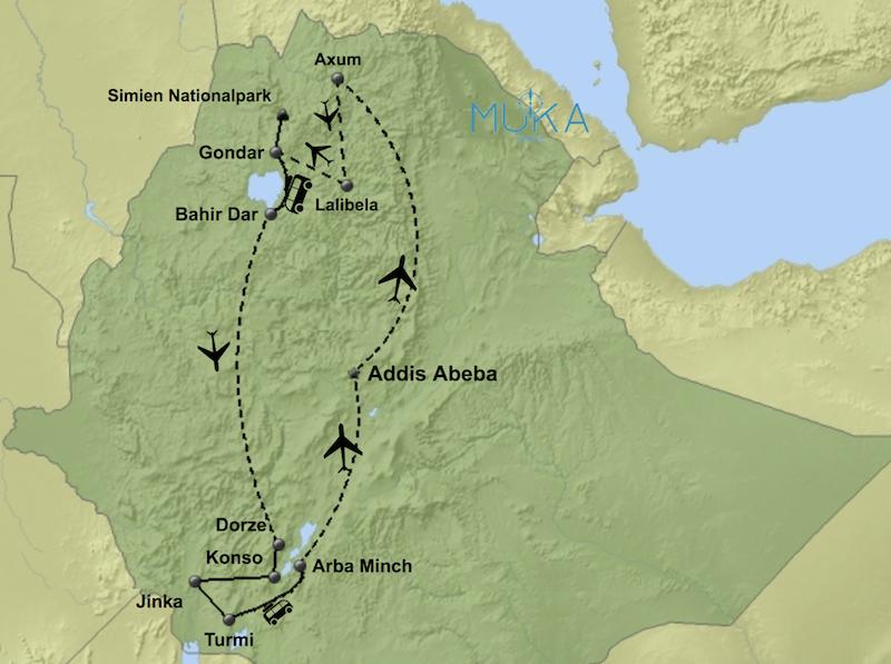 Äthiopien komfort Reisen LT01