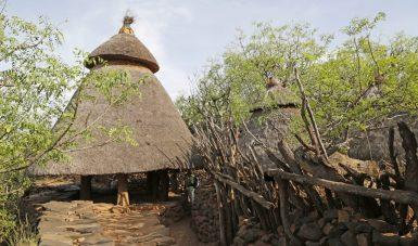 Rundreisen Äthiopien - Konso Dorf