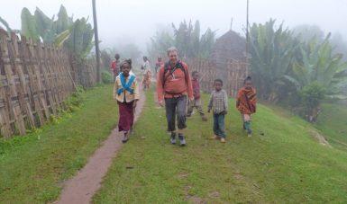 Äthiopien Rundreisen - Wanderung bei den Dorze