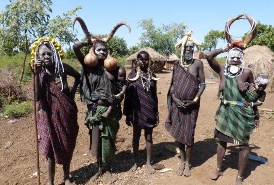 Äthiopien Reisen - Mursi Volk