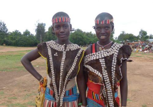Ari Mädchen in Äthiopien