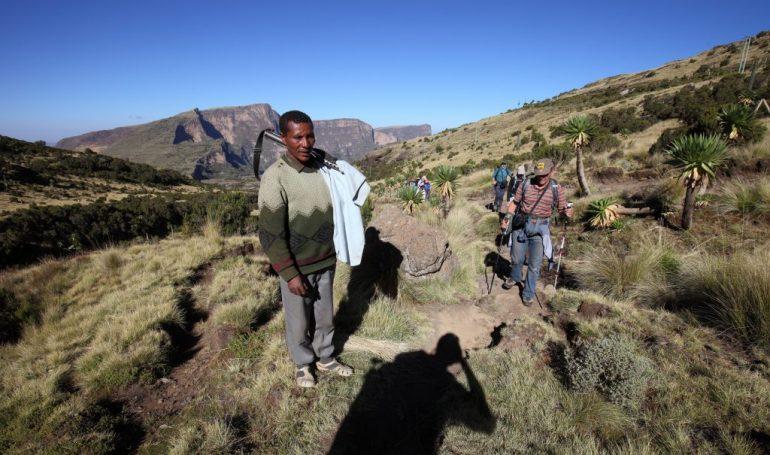 Äthiopien Reisen - Wandern im Simiengebirgen