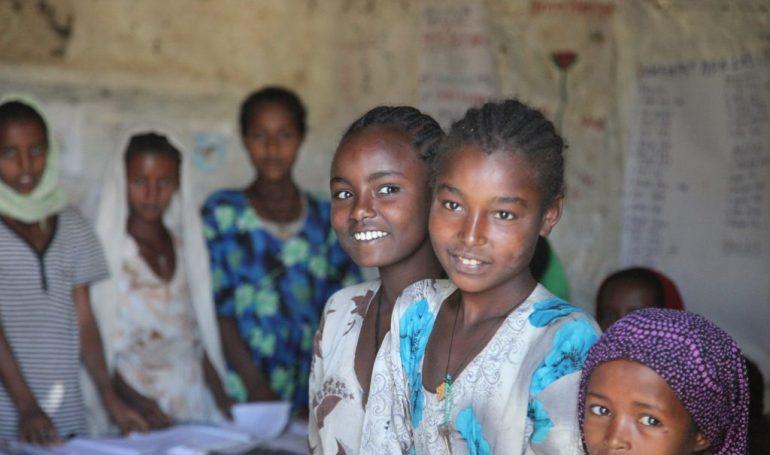 Äthiopien Reise - Schulbesuch