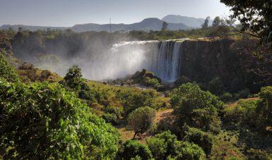 Äthiopien Individualreisen - Tississat Wasserfälle