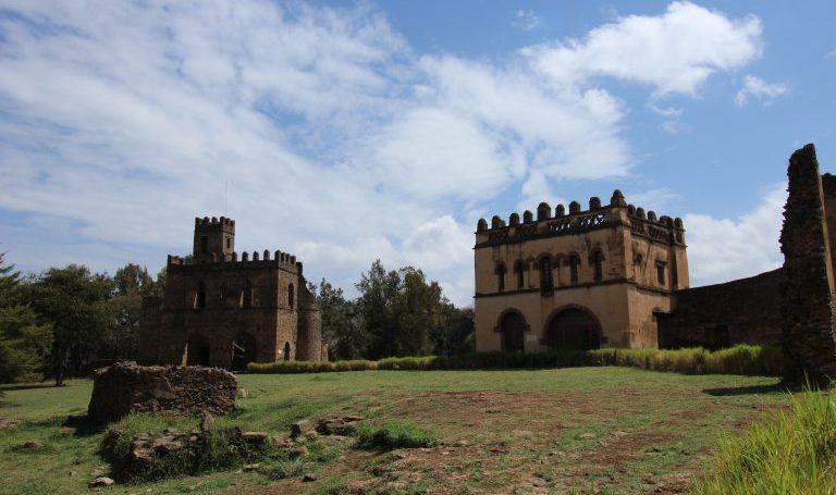 Äthiopien Urlaub - Burganlagen von Gondar
