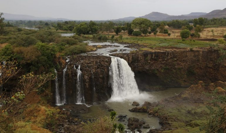 Äthiopien Rundreise - Blauer Nil Wasserfälle