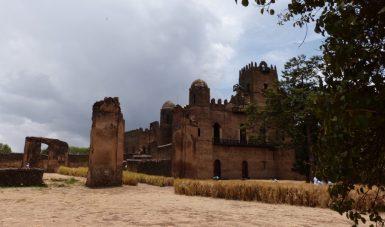 Reisen Äthiopien - Burganlage von Gondar