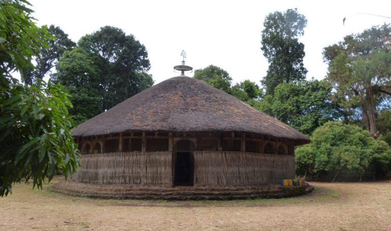 Reise nach Äthiopien - Bete Maryam Kloster auf Zeghie