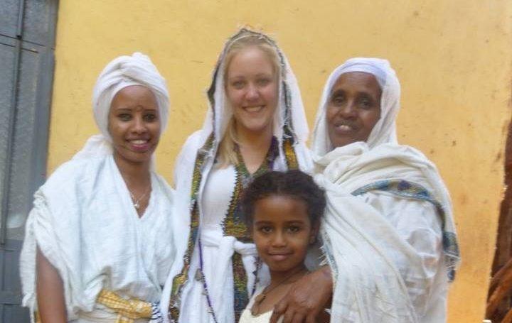 Äthiopien Reise - Besuch bei äthiopischer Familie