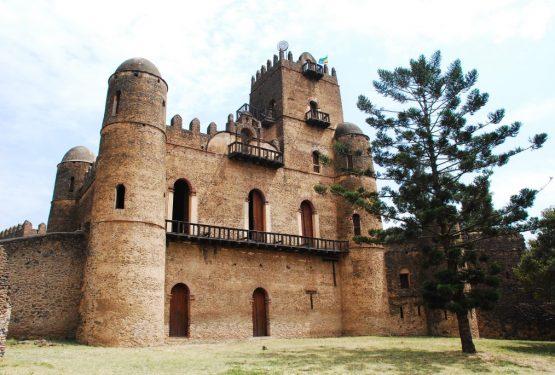 Äthiopien Reisen - Burganlagen in Gondar