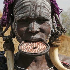 Allestour - Äthiopien Reisen - Mursi Frau