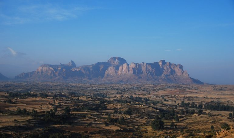 Äthiopien Fahrradtour Gheralta Berg