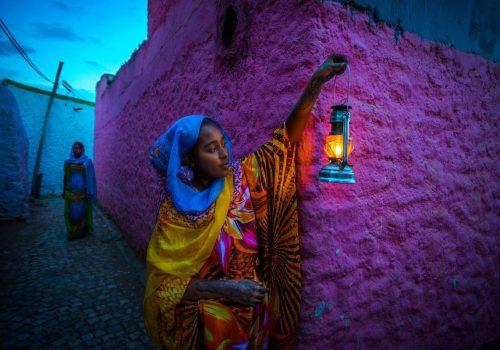 Harar Frau auf Äthiopien Reise individuell